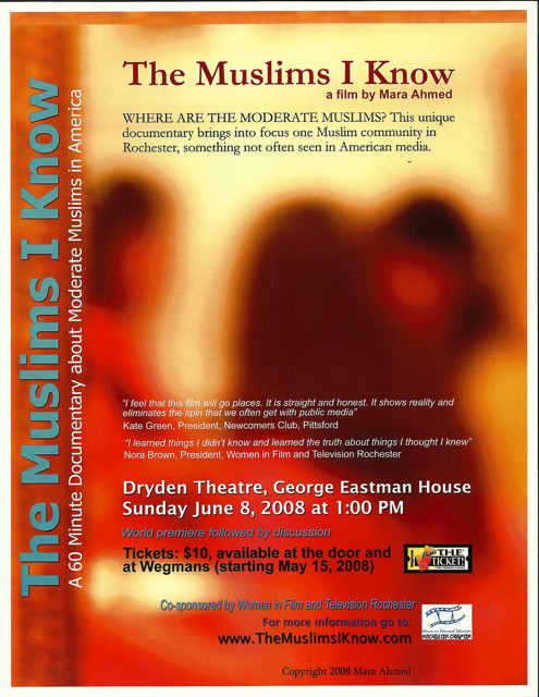 world premiere of the muslims i know at the dryden theatre