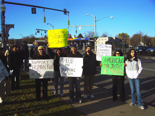 rally to show solidarity with movement for justice in pakistan