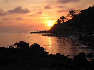 chacala sunset