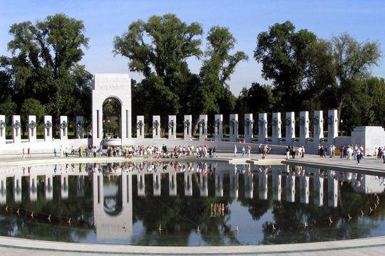 world war II memorial in dc