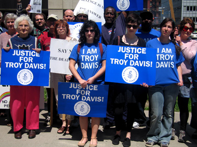 Global Day of Action for Troy Davis, Rochester, NY
