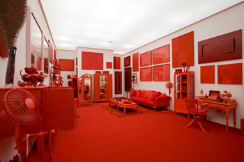 """red shift"" by cildo meireles"