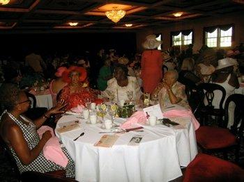 tea party and award ceremony
