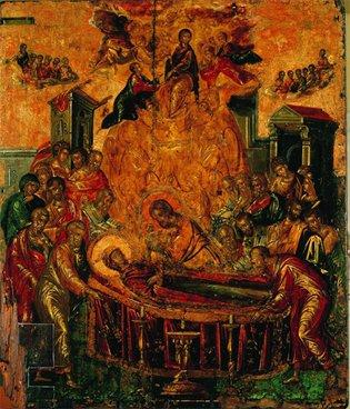 """""""Dormition of the Virgin, Syros"""" by El Greco"""
