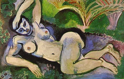 """blue nude, souvenir of biskra"" by henri matisse - 1907"