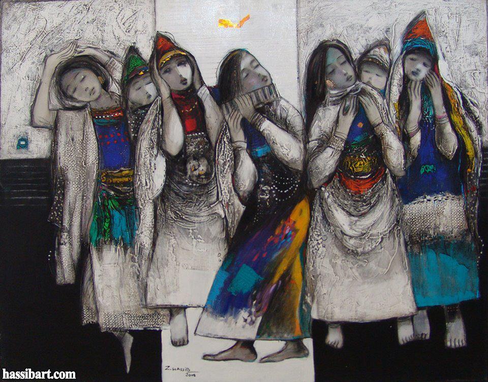 artwork by syrian artist zuhair hassib