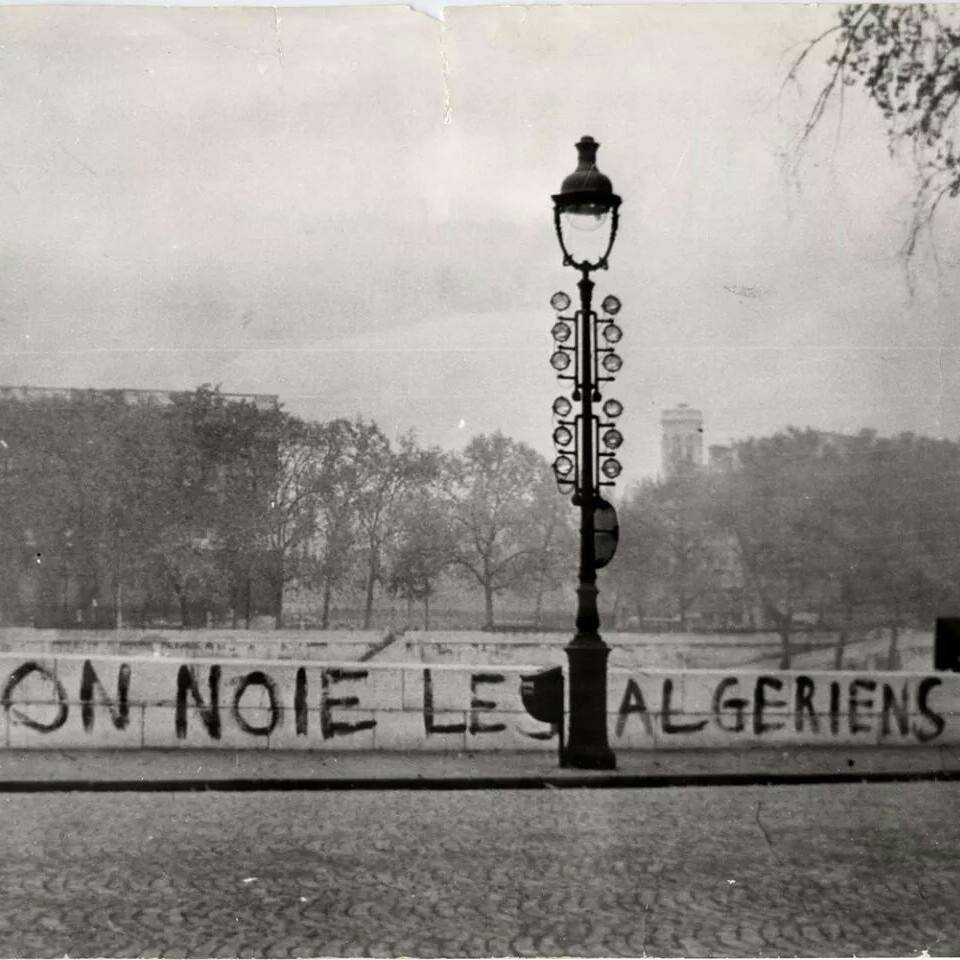 paris massacre of 1961